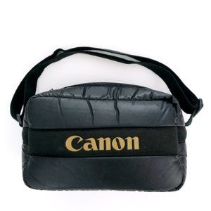 CANON Vintage Puffer Camera Carrying Case Bag